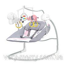 Крісло-гойдалка Kinderkraft Minky Pink (KKBMINKYPNK000)