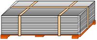 Оцинкований плаский лист 1250мм, поліестр Ral