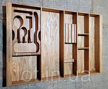 Лоток для столовых приборов Lotwood 107. (индивидуальные размеры)