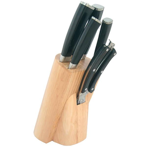 Набір ножів з нержавіючої сталі на підставці MAESTRO MR-1424 (7 шт)   кухонний ніж   ножі Маестро, Маестро