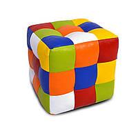 Пуфик Кубик Рубика Экокожа