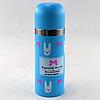 Вакуумний дитячий металевий термос BENSON BN-55 рожевий (350 мл)   термочашка LOVE, фото 3