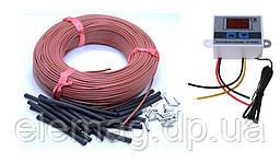 1 м2 Комплект для теплої підлоги 33 ом/м 12К (10 метрів) з терморегулятором