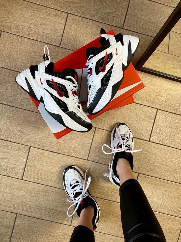 Мужские кроссовки Nike M2K Tekno Black/White