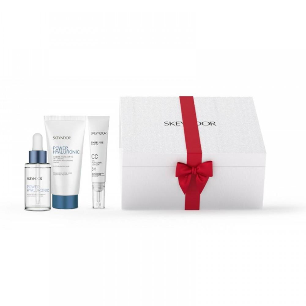 Подарочный набор 100% увлажнения  для сухой кожи Skeyndor POWER HYALURONIC