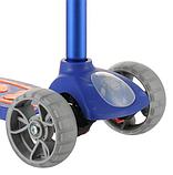 Самокат дитячий Micmax 08N синій до 60 кг   чотириколісний самокат Мікмакс з ліхтариком і підсвічуванням коліс, фото 4