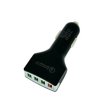 Автомобильное зарядное устройство для телефона XZY-008 4 Port USB QC3.0 | usb зарядка в авто