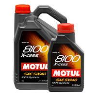 Синтетическое моторное масло Motul (Мотюль) 8100 X-cess 5W-40 4л.