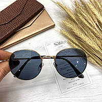 Очки женские солнцезащитные круглые, фото 1