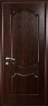 Вензель глухое - Каштан - 80см. Коллекция Фортис DeLuxe. Межкомнатные двери МДФ Новый Стиль