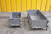 Мангал чугунный разборной  700*330*90 мм (вес - 33 кг)
