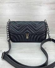 Женская сумка «Джуди» черная Welassie