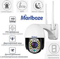 Marlboze CamHi (чорна) - IP камера, WiFi (дистанційний перегляд), обертання, сигналізація - ORIGINAL