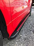 Mercedes GLK klass X204 Бічні пороги Maya Red (2 шт., алюміній)