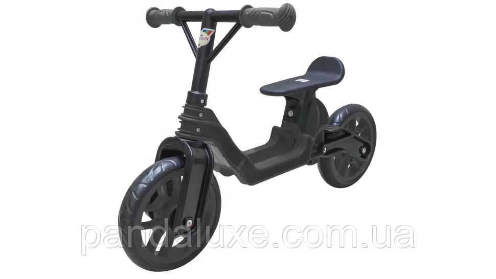 Беговел детский Байк пластиковый велобег для детей от 2-х лет (Чёрный)