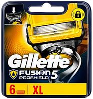 Сменные кассеты Gillette Fusion ProShield, на 5 лезвий (6шт.)