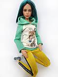 Одяг для ляльок Барбі - батнік, фото 3