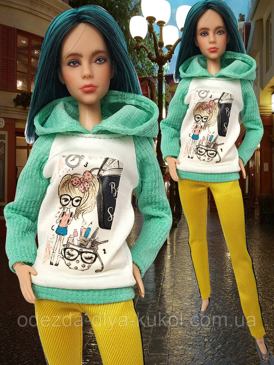 Одяг для ляльок Барбі - батнік