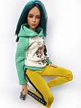 Одяг для ляльок Барбі - батнік, фото 8