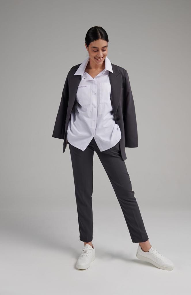 Женский костюм, костюмка, р-р 42-44; 44-46; 46-48 (чёрный)