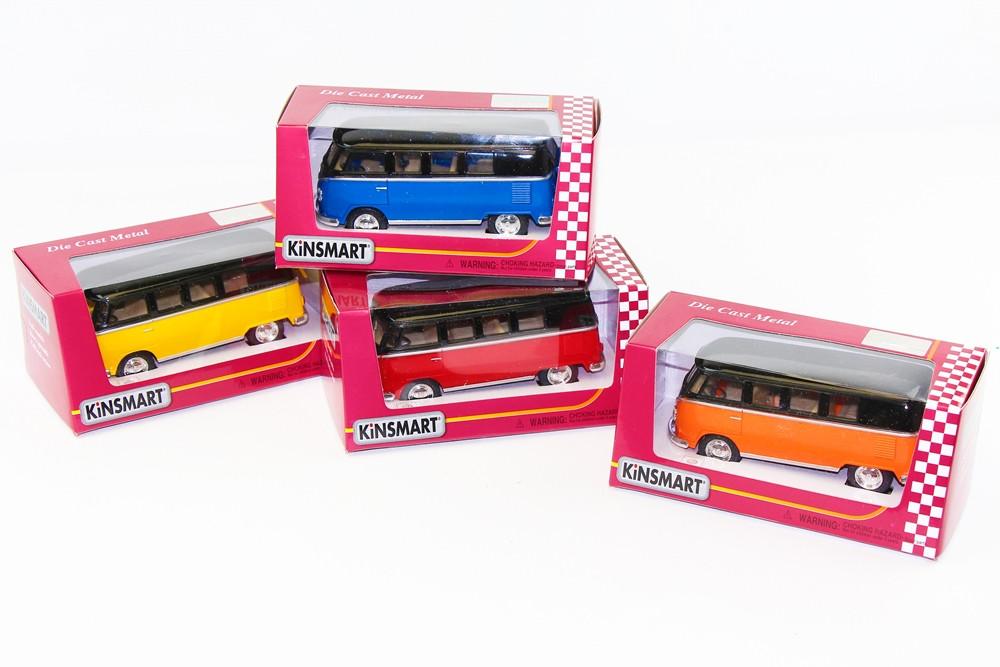 "KINSMART Мет. машина ""Volkswagen Classical Bus Black Tor """