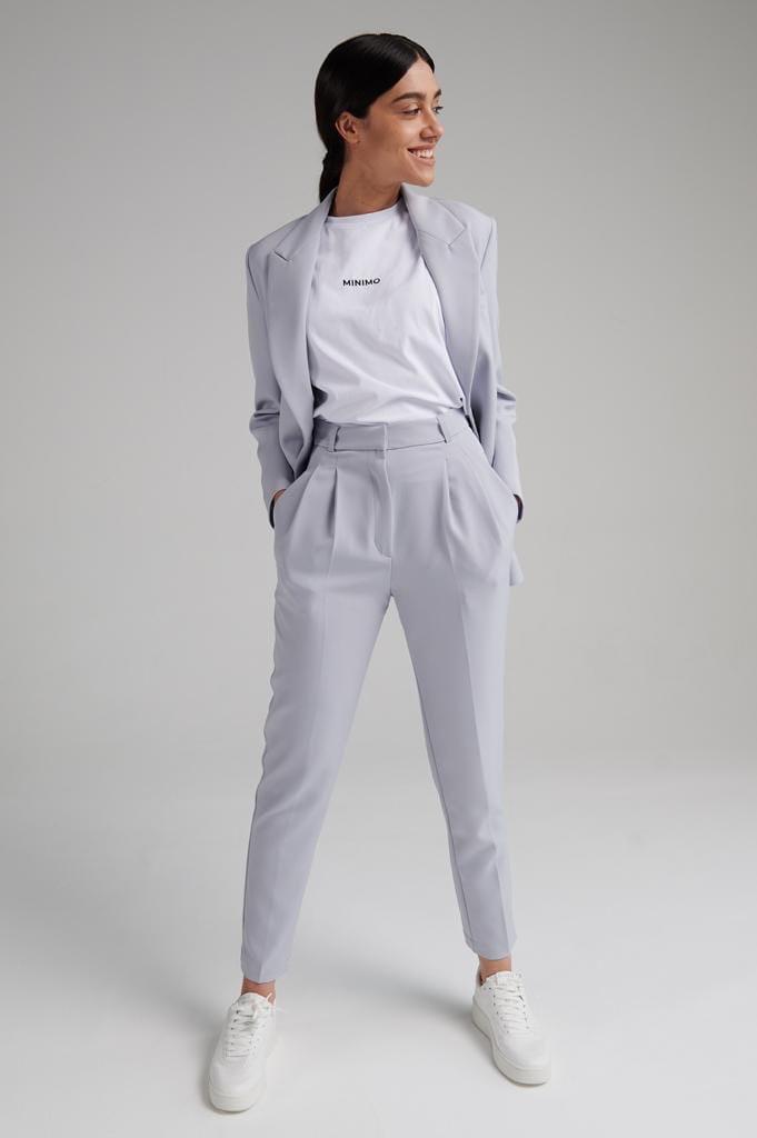 Жіночий костюм, костюмка, р-р 42-44; 44-46; 46-48 (сірий)