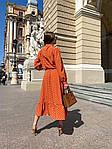 Женское платье, софт, р-р 42-44; 44-46 (оранж), фото 4