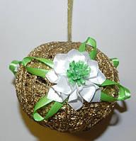 Новогодний шар на елку, декор, ручная работа