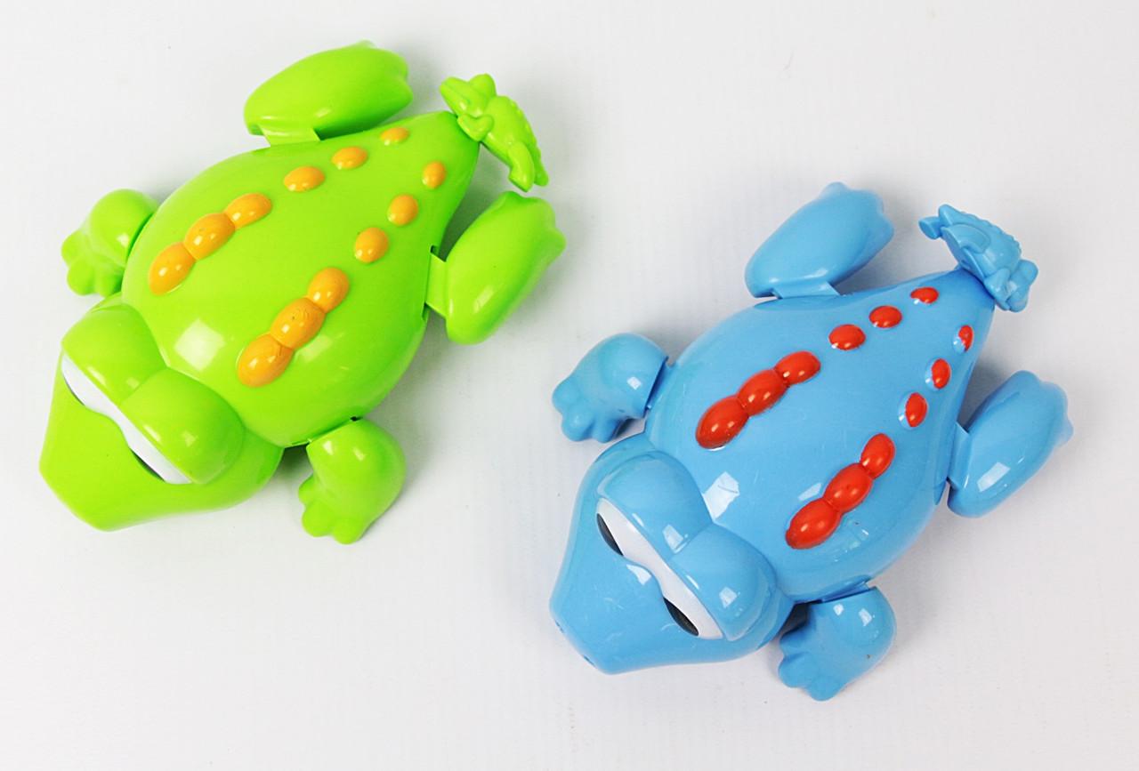 SALE Заводна водоплав. іграшка - крокодил 6 шт. в коробці