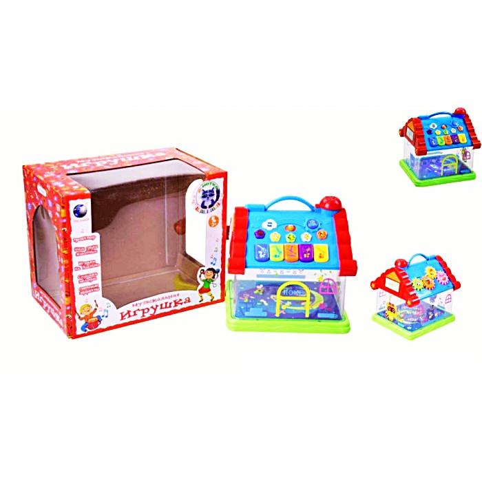 SALE Муз. домик в коробке