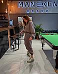 Женский спортивный костюм, двунить, р-р 42-44; 46-48; 50-52 (мокко), фото 2