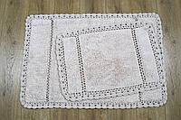 Набор ковриков Irya - Lorinda bej бежевый 60*90+40*60, фото 1