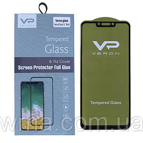 Защитное стекло Veron Slim Full Cover Huawei P Smart Plus ; Nova 3i (Black)