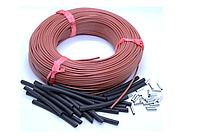 33 Ом/м 12К Карбоновий нагрівальний кабель 100 метрів, фото 1