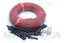 33 Ом (12К) Нагрівальний карбоновий кабель в силіконовій ізоляції