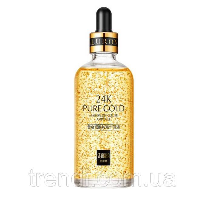 Ліфтинг сироватка для обличчя Senana 24K Pure Gold