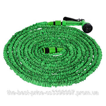 Шланг для полива X HOSE 45 м раcпылитель Зеленый