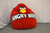 Детское кресло мешок Angry Birds