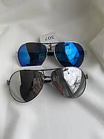 Солнцезащитные очки мужские зеркальные