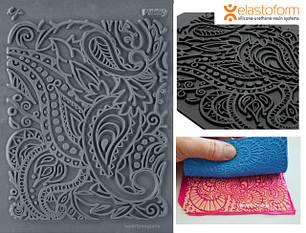 Текстурирование полимерной глины:коврики для текстур, молды, ролики с текстурой