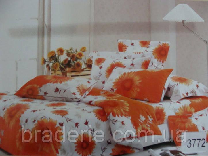 Сатиновое постельное белье семейное Elway