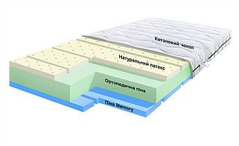 Смарт Айленд (11 см) 120*60 з Memory та натуральним латексом. Дитячий матрац в ліжечко для новонароджених.