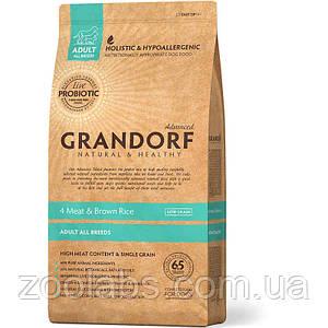 Корм Grandorf для собак 4 мяса с пробиотиком | Grandorf Probiotocs 4 Meat & Brown Rice 3 кг