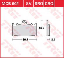 Тормозные колодки передние для мотоцикла Kawasaki Ninja , Suzuki GSX-R , Suzuki Bandit , Kawasaki VN Vulcan