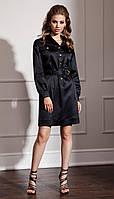 Сукня Nova Line-50047 білоруський трикотаж, чорний, 42, фото 1