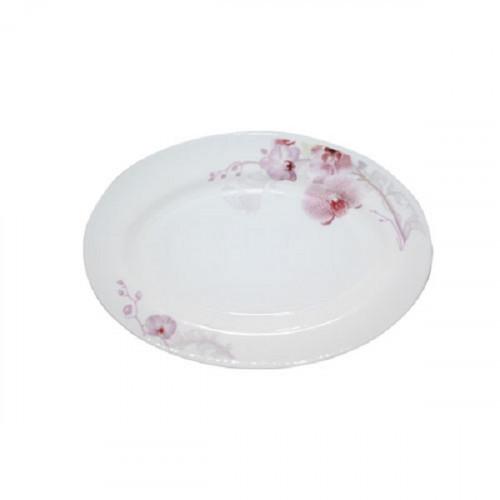 """Блюдо овальное S&T Розовая орхидея 10"""" 61099 30066"""