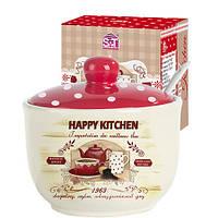 Цукорниця з ложкою S&T Heppy Kitchen 450мл 2242-11