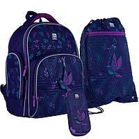 Набор Kite рюкзак + пенал + сумка для обуви Beautiful bird