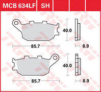 Тормозные колодки мото TRW-LUCAS задние MCB634 для мотоцикла Honda CBR , Suzuki Bandit , Yamaha R6 , Yamaha R1