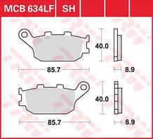 Гальмівні колодки мото TRW-LUCAS задні MCB634 для мотоцикла Honda CBR , Suzuki Bandit , Yamaha R6 , Yamaha R1
